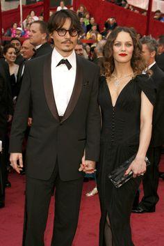 Pin for Later: Les 9 Femmes Célèbres Qui Ont Partagé la Vie de Johnny Depp Vanessa Paradis