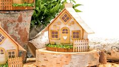 Adorable Cabin in the Woods Paper Houses Video Tutorial from the Joyous Celebrations Collection by Sharon Sowell!