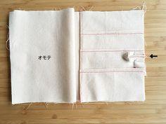ポケットたっぷり!母子手帳カバー(ケース)の作り方 | nunocoto Towel, How To Make, Handmade, Leather, Hand Made, Handarbeit