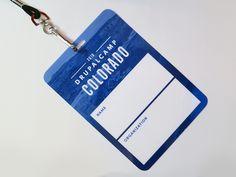 Drupalcamp Colorado 2016 Name Badge