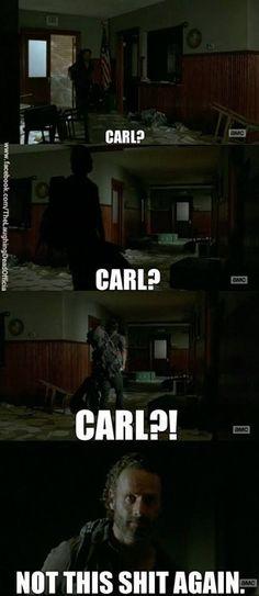 The Walking Dead // Where's Carl?