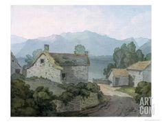 On Ullswater, Cumberland, 1791 Giclee Print by John White Abbott at eu.art.com