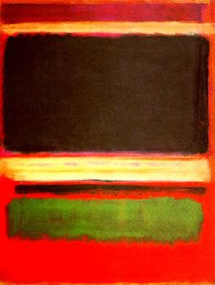 Magenta, black, green and orange, 1949  Oil on canvas  216.5 x 164.8 cm  The Museum of Modern Art, New York City