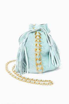 Pierced Bucket Bag