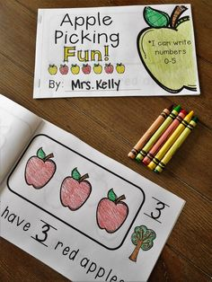 Writing Numbers 0-5... Perfect for September in Kindergarten!