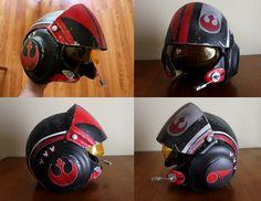 Episode 7 X-wing Pilot Helmet - EPISODE 7 PILOT HELMET - Prop Replicas, Custom Fabrication, SPECIAL EFFECTS