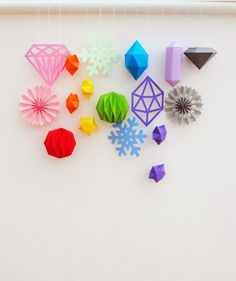 15 Bright & Colorful DIY Ornaments for Your Tree