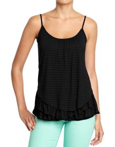 Old Navy Womens Asymmetrical Striped...