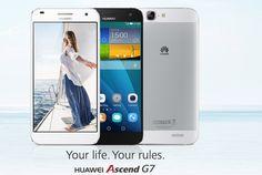 El Huawei G7, con su nuevo muy intuitivo EMIU 3.0.  http://www.jumpymovil.com/huawei-ascend-g7-blanco-4g.html