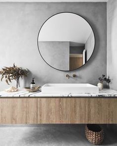 This modern beach house in Bondi boasts concrete floors, exposed brick wall and . - This modern beach house in Bondi boasts concrete floors, exposed brick wall and timber finishes to -