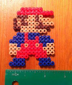 8 bit Character Sprites from Super Mario Bros NES Nintendo Perler Art | eBay