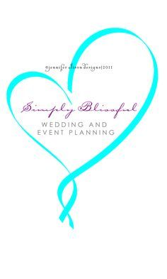 This business logo for a wedding planner uses delicate text and romantic colors to showcase her wedding & event planning company. Description from pinterest.com. I searched for this on bing.com/images
