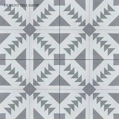 For kitchen: Cement Tile Shop - Encaustic Cement Tile Tulum Best Floor Tiles, Bathroom Floor Tiles, Wall Tiles, Kitchen Tiles, Tile Patterns, Textures Patterns, Print Patterns, Tulum, Encaustic Tile
