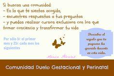 Comunida de duelo gestacional y perinatal