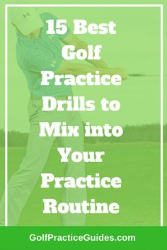 Best golf practice drills to add to your golf practice routine. High school golfers should follow these to lower their golf scores on their journey to scratch golf!