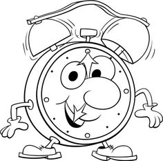 Clock - free coloring pages | Coloring Pages