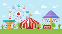 How to Create a Retro Funfair Vector in Adobe Illustrator