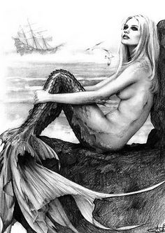 Mermaids are my favorite mythical creature! Would be cool to get my very own tail from the Mertailor.......bet its an awesome abbs workout!