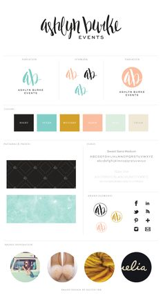 New Brand Launch: Ashlyn Burke Events - Salted Ink Design Co.