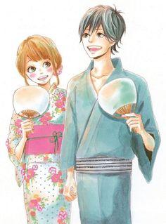Orange Takano Ichigo I Honestly I find this and Ao Haru Ride a little similar Anime Chibi, Orange Anime, Vocaloid, Manga Art, Anime Art, Takano Ichigo, Hotarubi No Mori, The Ancient Magus Bride, Comic Manga