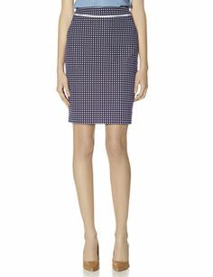 Dot Pencil Skirt from THELIMITED.com #TheLimited #LTDPetites