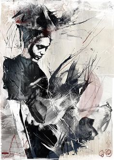 This illustration by Russ Mills fits into the concentration of distortion of humanity. Art Painting, Cool Artwork, Artist Inspiration, Amazing Art, Illustration Art, Abstract Artwork, Art, Creative Art, Love Art