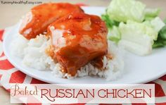 4-Ingredient Baked Russian Chicken