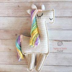 Ragdoll Unicorn Free Crochet Pattern | For those that haven't had enough of unicorns yet