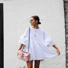 i love fashion Looks Style, My Style, Summer Outfits, Summer Dresses, Trendy Dresses, Fashion Outfits, Womens Fashion, Fashion Trends, Spring Summer Fashion