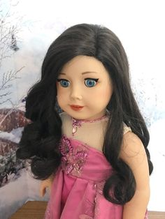 MARY in Blonde JLY Truly Me Doll Wig Replacement customs Fits American Girl