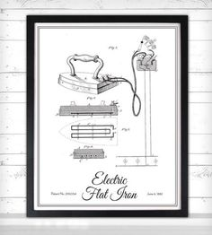 Vintage Laundry Print - Flat Iron by Lettered & Lined on Scoutmob Shoppe