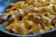 Cheesy Ranch Potatoes – My Favorite Potato Recipe | Mrs Happy Homemaker | Bloglovin'