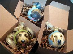 Hand Painted Custom Christmas Ornament with your favorite pet!
