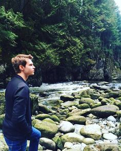 Robbie Kay @RobbieKay_ :  Until next time #Vancouver! Roaming the forest has never been so fun.