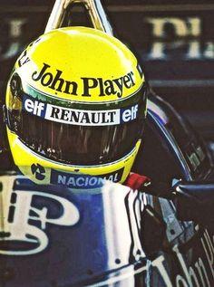 Lotus 97T ——- Ayrton Senna