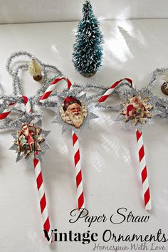 Groovy 1000 Images About Homemade Ornaments Misc On Pinterest Easy Diy Christmas Decorations Tissureus
