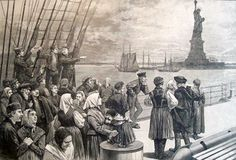 Find a summary, definition and facts about the Ellis Island History Facts for kids. US Immigration and Ellis Island History Facts. US Immigration and Ellis Island History Facts for kids, children, homework and schools. Ellis Island, Carthage, Bernie Sanders, Tracy Chevalier, New York Harbor, Deck, Family History, Poster Size Prints, Ireland