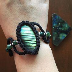 Lab Bracelet www.evergreenbohojewelry.etsy.com #labradorite #bracelet #jewelry #stone #gemstone #agate #hippie #bohemian #boho #bohochic #bohojewelry #festival #gypsy #spiritual #photooftheday...