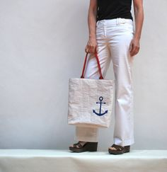 Nautical Love Eco Friendly Sail Tote