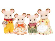 Field Mouse Family|Sylvanian Families