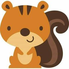 Create a Critter 09 Felt Animals, Baby Animals, Cute Animals, Woodland Creatures, Woodland Animals, Cute Images, Cute Pictures, Squirrel Clipart, Image Svg