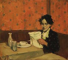 ✉ Biblio Beauties ✉ paintings of women reading letters & books - Malcolm T. Liepke