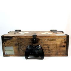 Call of Duty Zombies inspired Mystery Box replica. New larger version available with or without sounds.