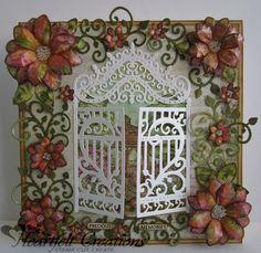Heartfelt Creations   Intertwining Vines Floral Gateway