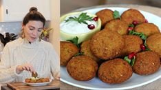 Wie Macht Man, Meals, Ethnic Recipes, Kitchen, Youtube, Foods, House, Falafel Recipe, Bulgur