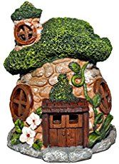 Found materials like mushrooms, pine cones, and branches make little forgaed fairy houses so realistic looking, you would think they were made by fairies.