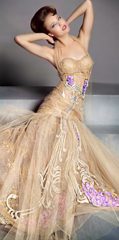 My Style: Blanka Matragi ● Couture Evening Dresses, Prom Dresses, Wedding Dresses, Dress Prom, Bridesmaid Dresses, Beautiful Gowns, Beautiful Outfits, Mode Glamour, Gowns Of Elegance