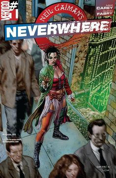Neverwhere (Neil Gaiman's…) - Issue 1 Neil Gaiman, Mike Carey, Sweeney Todd, Fantasy Illustration, Moving Pictures, Comic Covers, Graphic Art, Graphic Novels, Troll