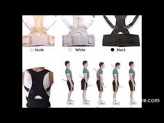 Pull the shoulders back to stand tall & sit up straight. Helps support, comfort & relieve aches & pains. Simple and effective at an affordable price.