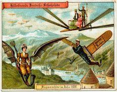 Imperdible: En 1900 así se imaginaban el futuro!
